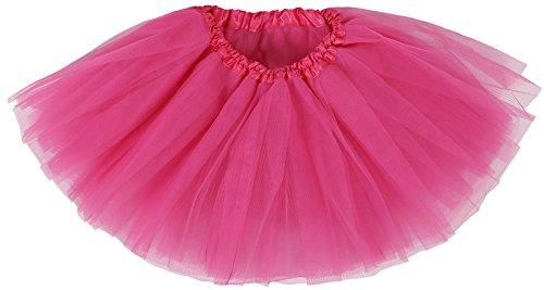 Girl's Princess Dress-up Tutu Skirt,Rose,2-8 Years by Livingston