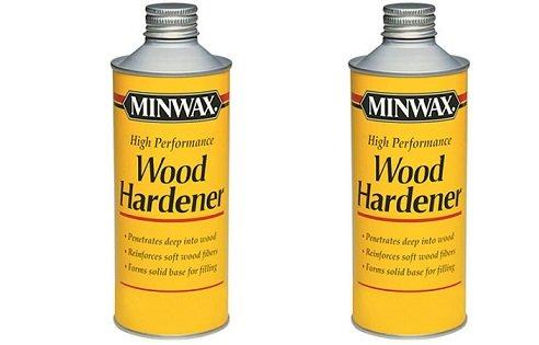 Minwax 41700000 High Performance Wood Hardener, pint (2-Pack)
