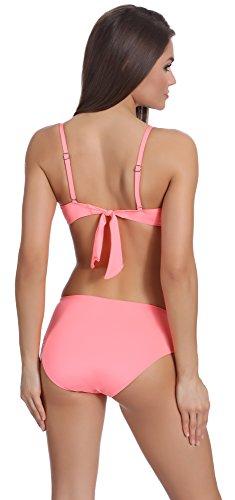 Merry Style Bikini Conjunto para mujer N2 50 Rosa Claro