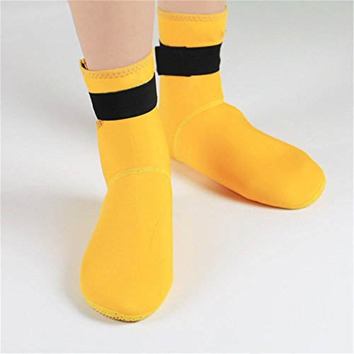 Summer Outdoor Yellow Unisex Yoga Exercise SKITCH Swim Mens Water Womens Surf Aqua Kids 7 Socks for Shoes Beach qSxtngRI
