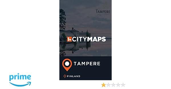 City Maps Tampere Finland James Mcfee 9781975662240 Amazon Com