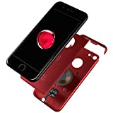 Marvelcase Air - for iPhone 7 (Maroon) - Qi standard Wireless Charging Receiver Case for iPhone 7