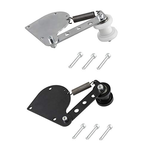 NAVARME 2x Chain Tensioner For 49cc 66cc 80cc 2-Stroke Engine Motorized Bicycle Black Silver Spring loaded ()