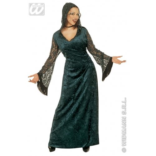 (Ladies Dark Seductress Costume Extra Large Uk 18-20 For Halloween Fancy)