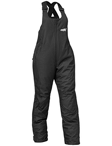 Castle X Platform Womens Snowmobile Bibs Black LRG by Castle X