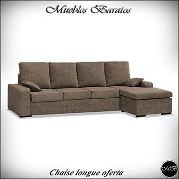 Home Actually Sofas 4 Sitzer Chaise Longue Für Wohnzimmer Sofa Chaiselongue  Cheslong Cheslon Ref 53