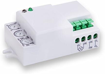 V-TAC Sensor de Movimiento de microondas 360° IP20 iluminación LED ...