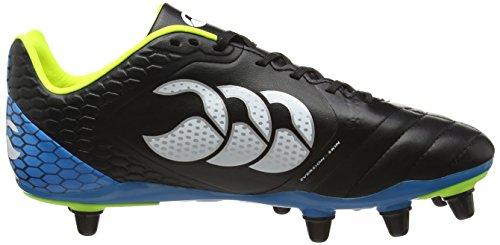 Homme Noir Black Elite 989 Red White de Stampede 8 Chaussures Stud Canterbury Football 0qU8A