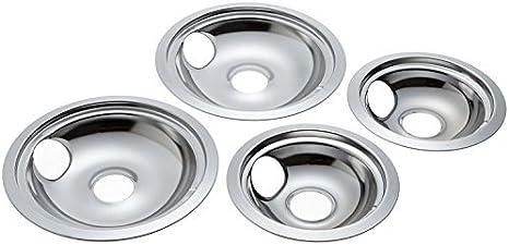 """Westinghouse Kelvinator Range 6/"""" Burner Chrome Drip Pan Bowl 5303280336 12.04 AC"""