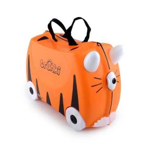 Trunki Ride On Suitcase Tipu Tiger print