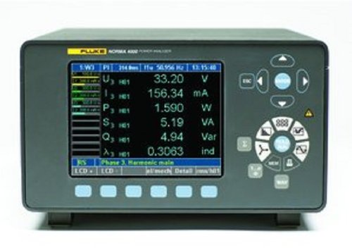 Fluke Norma 4000 3 Phase High Precision Power Analyzer with PP42 Channel, 0.2% Accuracy, 0.3V to 1000V, 10 A Current Range