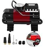 Digital Tire Inflator,12V Digital Car Tire Inflator Air Compressor Pump 100PSI W/LED Lamp for Car Ball Bike Air Boat