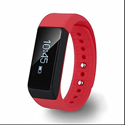 Sports Montre Fréquence Cardiaque Moniteur,Date Calendrier,Moniteur de Tension Artérielle,Surveillance de sommeil,Sport Tracker,sans fil Bluetooth pour ios Système Android iPhone Samsung HTC