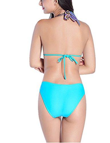 Tankini Mujer Szivyshi Azul Para Claro dPwq1Sw