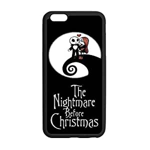 Customize TPU Gel Skin Case Cover for iphone 6+, iphone 6 plus Cover (5.5 inch), The Nightmare Before Christmas