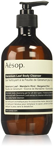 Aesop Geranium Leaf Body Cleanser  16 9 Ounce