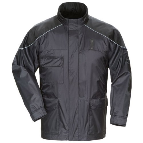Tourmaster Mens Sentinel LE Motor Officer Rainsuit Jacket - 2X-Large
