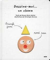 Book's Cover ofDessine-moi un clown