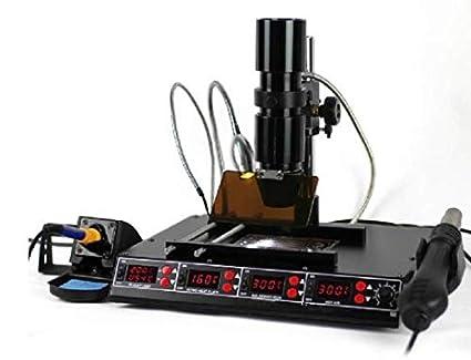GOWE funciones en 1 estación SMD Bga infrarrojo pistola de aire caliente + 540 advpro estación