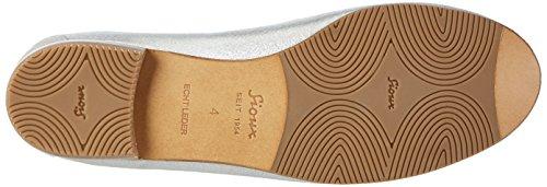 Sioux 60050, Mocasines Mujer Plateado (Linen)