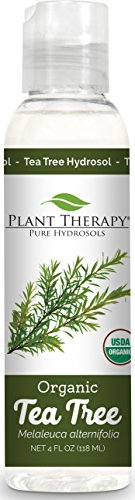 Plant Therapy Tea Tree (Melaleuca) Organic Hydrosol 4 oz By-Product of Essential Oils