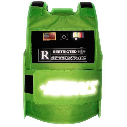 hudson Reflective Vest (Green)