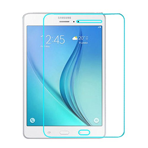 Tempered Glass Screen Protector for Samsung Galaxy Tab A 8.0 Inch T350 T355 Tablet, fengus Ultra Clear Scratch Resistant High-Response Film Display Protector with 9H Hardness (1 Pack)
