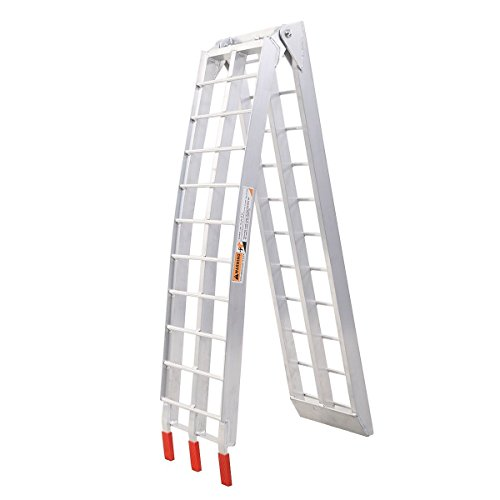 7.5' Heavy Duty Aluminum Motorcycle Bike Ramp Arched Foldable Loading Ramps New by Unknown (Image #7)