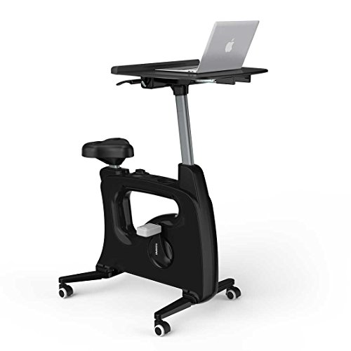 FLEXISPOT Deskcise pro v9 standing desk exercise bike for home office