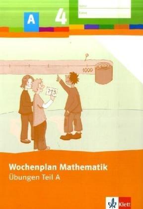 Wochenplan Mathematik/4. Schuljahr: Basispaket. Übungen Teil A und B und Trainingskurs mit CD-ROM