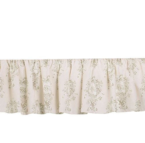 (Cotton Tale Designs Twin Bed Skirt, Lollipops and Roses)