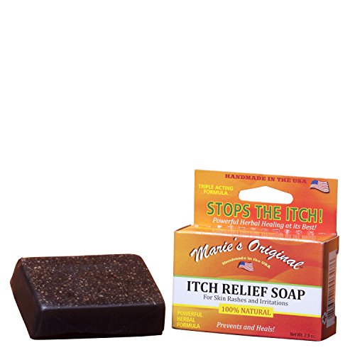 Natural Treatment for - Eczema, Psoriasis, Rosacea, Dermatitis, Dry and itchy skin and more – Soap Bar; 2.9 oz.