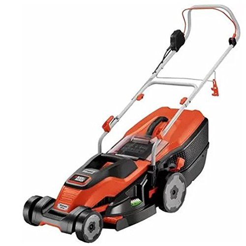 """Black and Decker 17"""" Corded Mower with Edge Max"""
