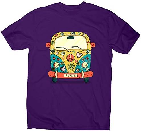 Graphic Gear Hippie Van - Camiseta para Hombre: Amazon.es: Ropa y accesorios