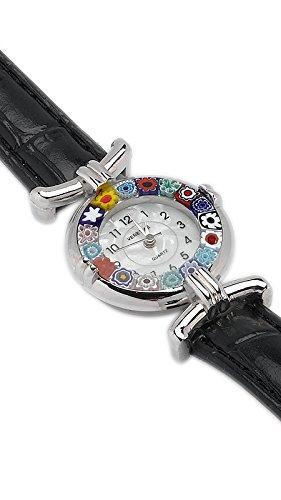 Murano Artisans Woman's Millefiori Watch