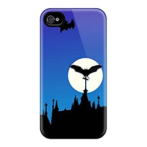 Cases Covers For Iphone 6 Strong Protect Cases - Happy Halloween Devil Night Design