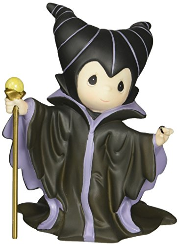 (Precious Moments, Disney Maleficent Figurine , Porcelain Bisque Figurine, 153011)