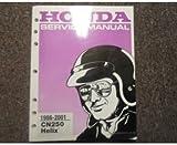 1993 1994 1995 1996 1997 1998 1999 Honda CN250 Helix Service Repair Shop Manual