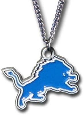 8e3a562f Amazon.com : NFL Detroit Lions Chain Necklace : Sports Fan Necklaces ...