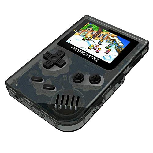Yuegoo Handheld Game Console, 32 Bit Pocket Game Console for Kids, Handheld Video Game with 548 Classic Games, Good Gifts for Children to Adult. (Black) from Yuegoo