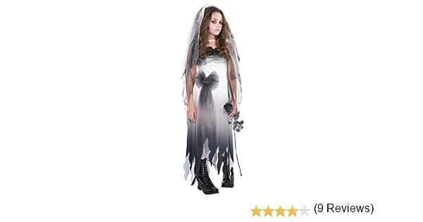 Disfraz de Novia cadáver para adolescentes en varias tallas para ...