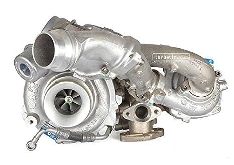 Turbo BMW Serie 1 123d E81 E82 E88 x1 E84 2.0 D 204 CV CV 10009700014 Original KKK: Amazon.es: Coche y moto