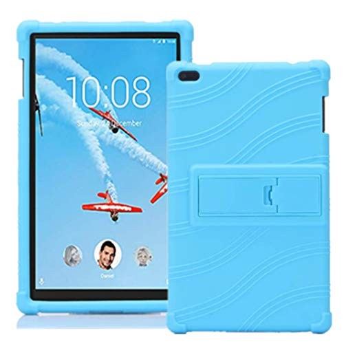 Lenovo TAB 4 8 Case - Light Weight Shock Proof Soft Silicone Back Cover [Kids Friendly] for Lenovo TAB 4 8 TB-8504F TB-8504N Tablet,Light Blue (Light Blue)