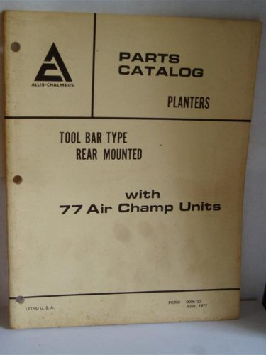Toolbar Parts Catalog - 2