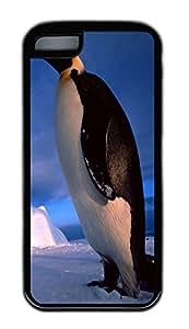 Distinct Waterproof Blue Penguin Design Your Own iPhone 5c Case