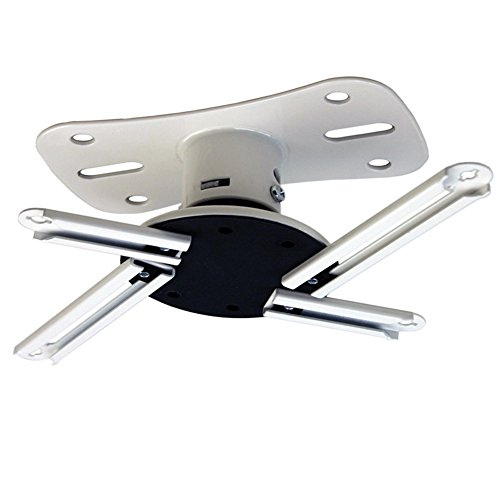 Kanto Ceiling Mount for Most Projectors White P101W