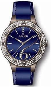 AVALIERI Ladies Analog Watch With Blue stone Dial,AV-0876