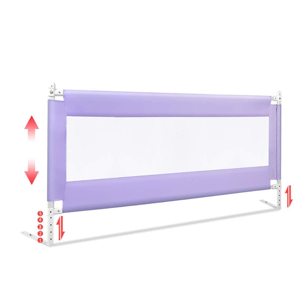 【待望★】 幼児のためのベッドレール 200cm (色 - エクストラロングベビーシャター耐性ガードレール、フルサイズのクイーン Purple&キングマットレス、高さ調節可能、5サイド (色 : Purple, サイズ さいず : 200cm) 200cm Purple B07MLSPHW1, アメカジ 通販 【Rockingchair】:fc5d733f --- a0267596.xsph.ru