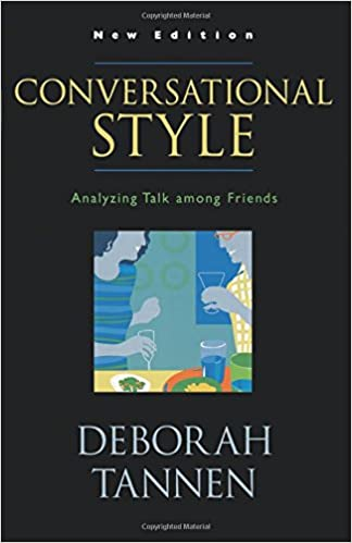 Image result for Conversational Style: Analyzing Talk Among Friends