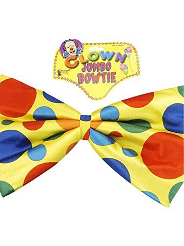 Forum Novelties Jumbo Polka Dot Clown Bowtie